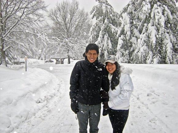 Virginia, EE. UU. invierno del 2010